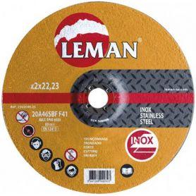 disco de corte de aço inoxidável Leman 125 Orange Range