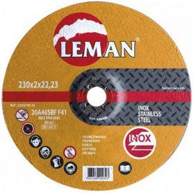 disco de corte de aço inoxidável Leman 230 Orange Range