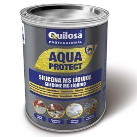 Ms de silicone líquido Quilosa do Aqua Protect 1 kg branco