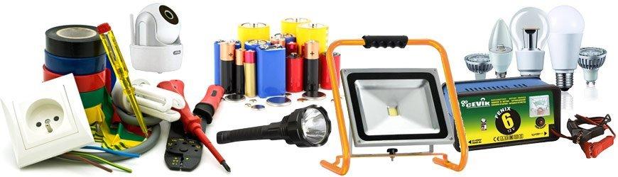 Loja online Material elétrico e iluminação