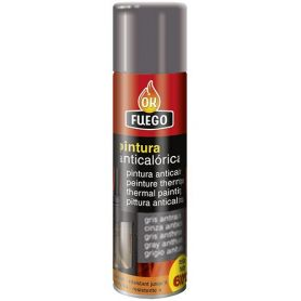Anthracite gray paint spray anticalórica OKFuego