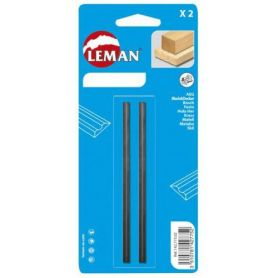 82x5.5x1.1 reversible MD blades 2 units Leman
