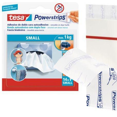 1kg 14 Strips tesa Powerstrips® SMALL für max