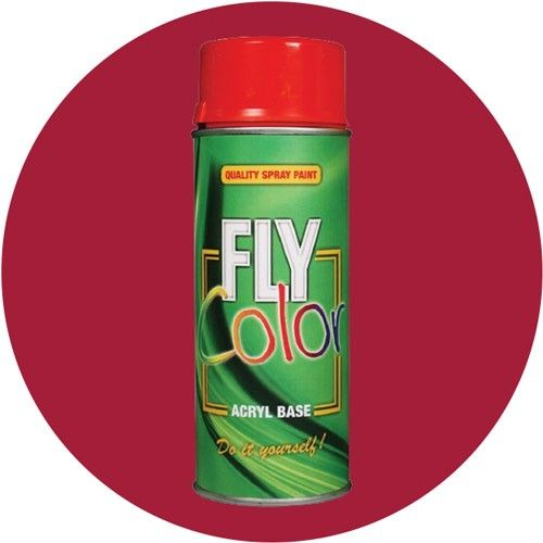 Fly Spray Paint Ral 3003 Red Ruby Shine 200ml Motip