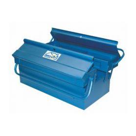 Metal Toolbox 3C 400x200x160mm Mercatools