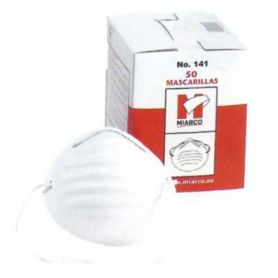 Disposable mask single box 50 units Miarco