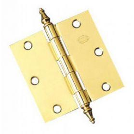 1011 89x89x1,8mm hinge model varnished brass (1 pair) Amig