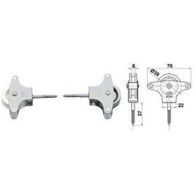 Zinc metal sheave pulley 4 Amig