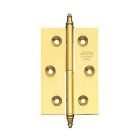 1006 Hinge 50x40mm model right polished brass Amig