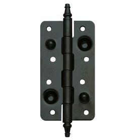 Safety hinge model 566 exposy matt black 150x80mm Amig