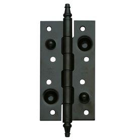 Safety hinge model 561 exposy matt black 150x80mm Amig