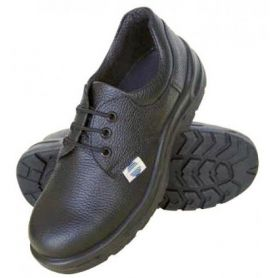 Safety shoe size 45 black leather lace - SA-1019 Chintex