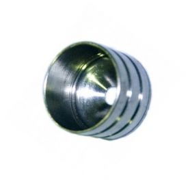 Closet rod cap for 19mm nickel Cufesan