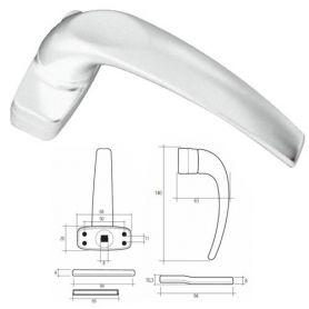 Game handle white Cufesan