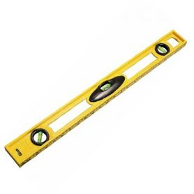 Abs 3 Axis Spirit Level 600mm stanley