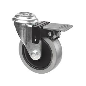 EML wheel for furniture 8mm and 50mm through - brake Series Mobile Cascoo