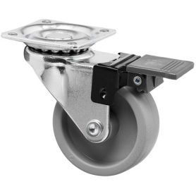 Natural propylene wheel and brake plate 40mm Series Mobile Cascoo