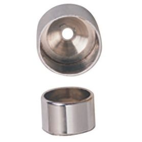 20mm round tube holder closet Master nickel