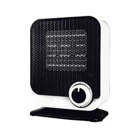 white / black ceramic heater Vertical 750 / 1500w gsc