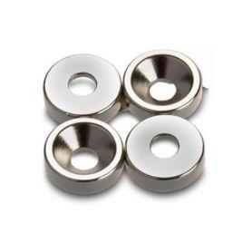 Countersunk neodymium ring 15x4 (8-4) nickel cufesan