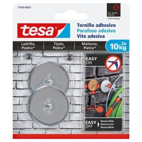 "Round adhesive screw for brick and stone 2x10kg <span class=""notranslate"">Tesa</span>"