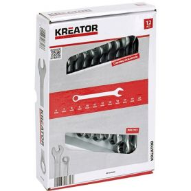Combination wrench set (set 12 pieces) 6-22 mm kreator