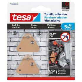 Screw triangle 5 kg transpatente adhesive tesa