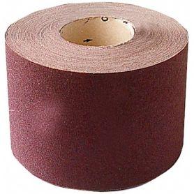 Corundum fabric roll 25m 100mm grit 60 leman