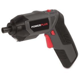 Cordless screwdriver 3.6V powerplus