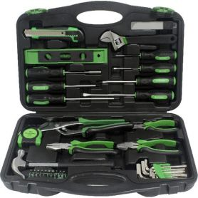 Toolbox with pliers and screwdrivers 55 pcs Mader