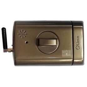 "electronic lock ""invisible"" Supratronik bronze Lince"