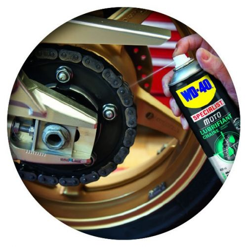 motorcycle chain lubricant wd40 motorbike. Black Bedroom Furniture Sets. Home Design Ideas