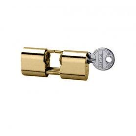 Nickel-plated brass key cylinder 5964/4040/3 right hand cvl