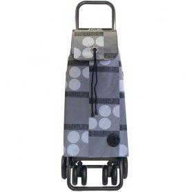 Shopping cart i-max gray logos tour logic rolser