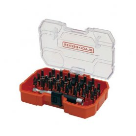 Set of 31 pieces to screw Black and Decker