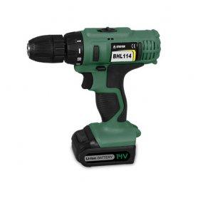 Drill screwdriver bhl114k 14.4v lithium bat stayer
