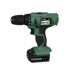 Drill screwdriver bhl112bk lithium bat 12v stayer