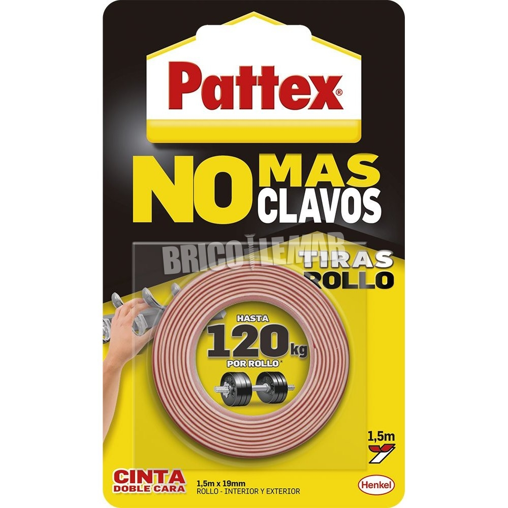 Double - sided tape Pattex No More Nails 1,5m Henkel