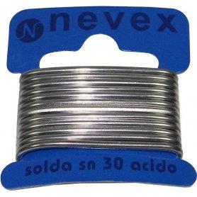Tin thread w / welding acid 70/30 20grs 2mm Mader