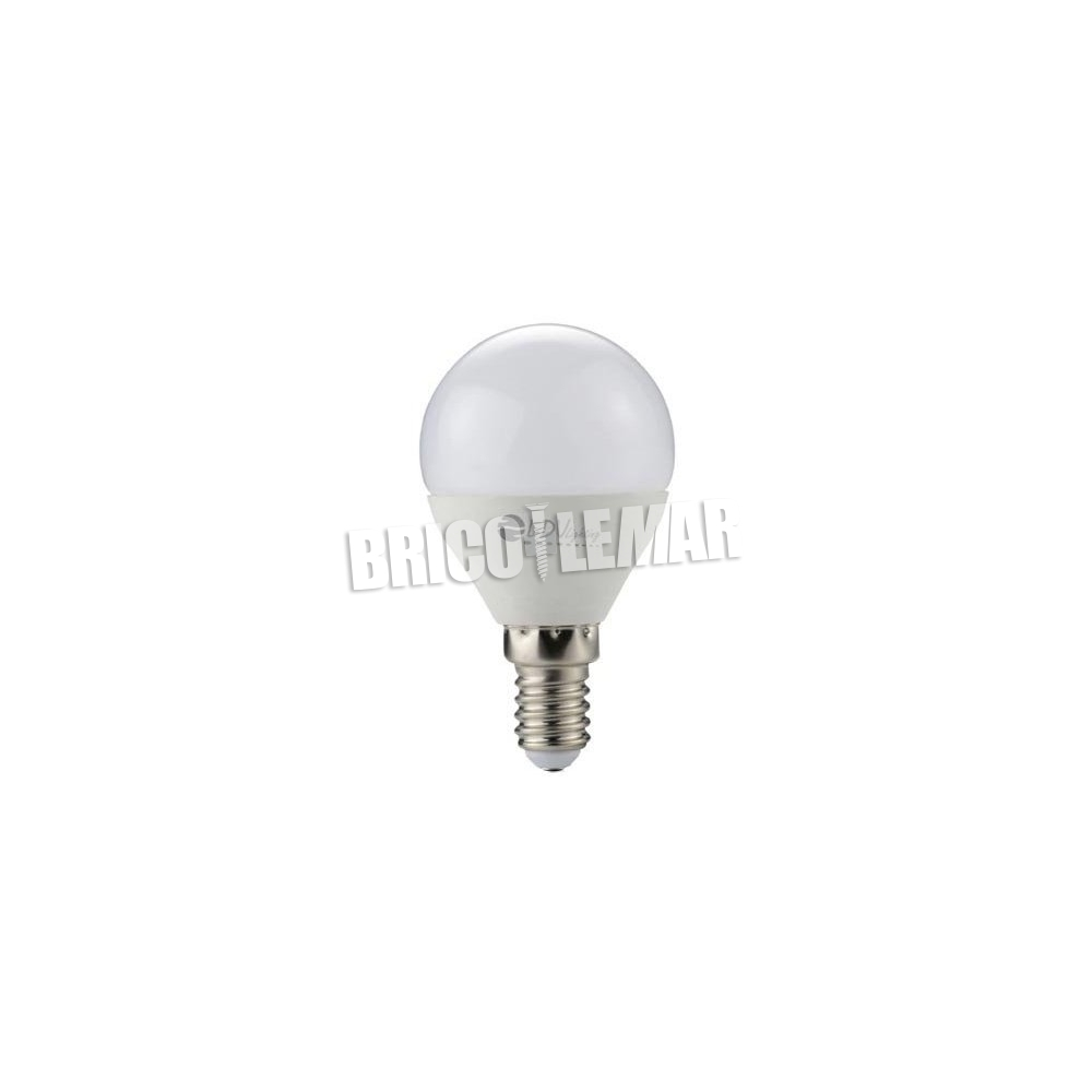 Spherical LED lamp E14 6W 460Lm 3000k 180 LDV Lighting