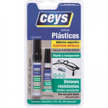 Plastics adhesive Dificiles Ceys