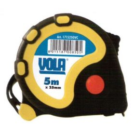 FLEXOMETRO ABS anti - shock rubber 3mx19mm Vola