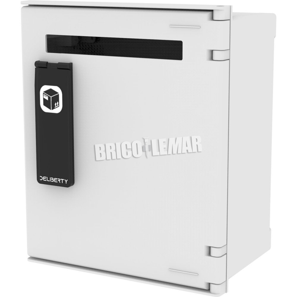 Smart Mailbox Deliberty Mailbox At Prime Letter Slots 32b With Standard Finish Bricolemar