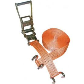 Ratchet lashing strap 35mm 2000kg 7m Mader