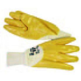 ALG + yellow nitrile glove size 9 72169 Bellota