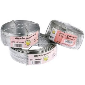 Coil galvanized wire No. 4 0.9mmx50m Central de Enrejados