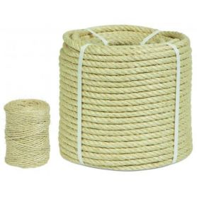 Sisal coil 2 strands 8mm 100mts HCS