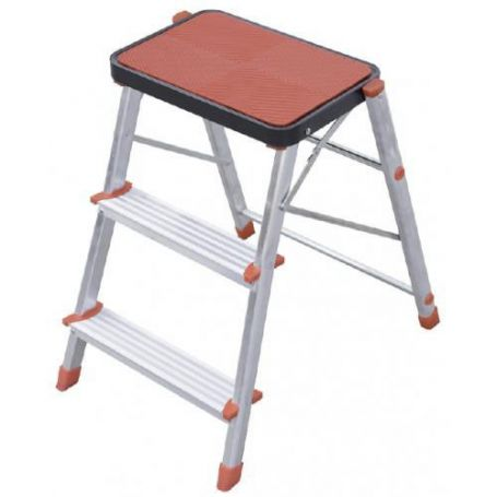 Tremendous 3 Steps Aluminum Folding Stool Persum Ibusinesslaw Wood Chair Design Ideas Ibusinesslaworg