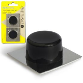 Stainless steel door stopper based adhesive black Kallstrong