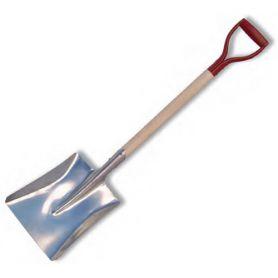 square aluminum shovel